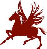 Pegasus, flying horse Stock Photos