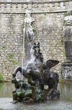 Pegasus Fountain, Villa Lante Royalty Free Stock Photo