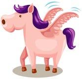 Pegasus horse Stock Image