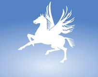Pegasus horse sign Royalty Free Stock Photography