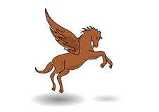 Pegasus - horse with wings Royalty Free Stock Photography