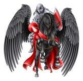 Pegasus Knight Stock Photos