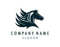 Pegasus-Logo Lizenzfreies Stockbild