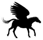 Pegasus Silhouette Stock Images