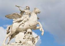 Pegasus. The statue of Pegasus in Paris, France Stock Image