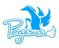 Pegasus symbol Royalty Free Stock Photography