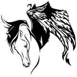 Pegasus vector Stock Image