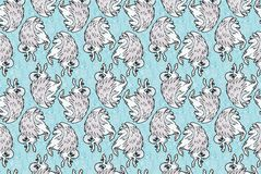 Pegasus wallpaper Royalty Free Stock Photography