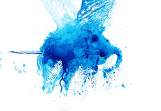 Pegasus-Zeichnungsskizzen-Aquarellillustration Stockbild