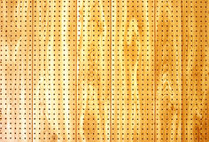 Pegboard Stock Photo
