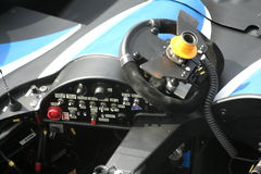 Pegeaut Le Mans cockpit Stock Images
