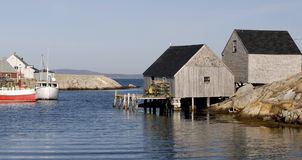 Peggy's Cove. This image was taken in Nova Scotia, Canada at Peggy's Cove Royalty Free Stock Photos
