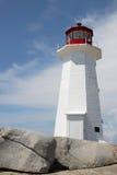 Peggy Bucht-Leuchtturm Stockfotos