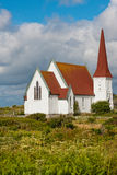 Peggy Cove church stock image