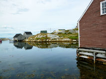 Peggy`s Cove Halifax Nova Scotia BC Stock Images