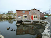 Peggy`s Cove Halifax Nova Scotia BC Stock Photos