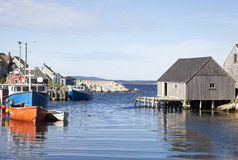 Peggy's Cove Harbor Stock Photography
