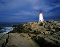 Peggy\'s Cove Lighthouse Stock Photo