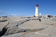 Peggy's Cove Lighthouse stock image