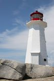 Peggy's Cove lighthouse Stock Photos