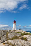 Peggy's Cove Lighthouse Royalty Free Stock Photography
