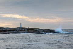Peggy's Cove Morn Stock Image
