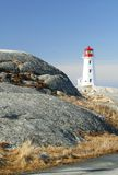 Peggy`s Cove, Nova Scotia Stock Images