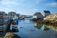 Peggy's Cove in Nova Scotia Canada Stock Images