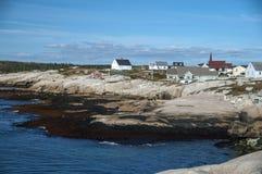 Peggy's Cove in Nova Scotia Canada Stock Photos