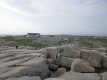Peggy`s Cove, Nova Scotia, Canada royalty free stock photography