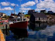 Peggy`s Cove, Nova Scotia - Canada Royalty Free Stock Images