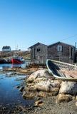 Peggy`s Cove, Nova Scotia Royalty Free Stock Images