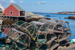 Peggy's Cove, Nova Scotia Stock Images