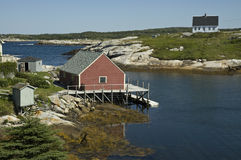 Peggy's Cove, Nova Scotia Stock Image
