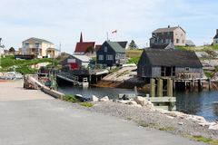 Peggy's Cove in Nova Scotia Royalty Free Stock Images