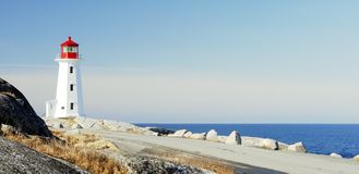 Peggy`s Cove- Panoramic Stock Photo