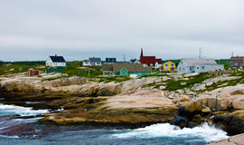 Peggy's Cove Shoreline Royalty Free Stock Photos