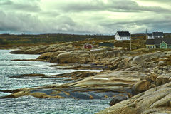 Peggy's Cove Village Royalty Free Stock Images