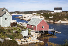 Peggy's Cove Village Stock Image