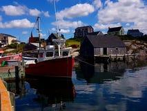 Peggy ` s zatoczka nowa Scotia, Kanada, - Obrazy Royalty Free