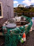Peggy ` s zatoczka nowa Scotia, Kanada, - Zdjęcie Stock