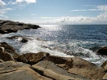 Peggy ` s zatoczka w nowa Scotia zdjęcie royalty free