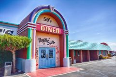 Peggy Sue-` s 50 ` s Abendessen Stockfoto