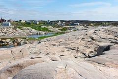 Peggy zatoczka w nowa Scotia Fotografia Stock