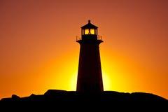 Peggys Bucht-Leuchtturm Stockbilder