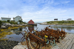 Peggys Cove Stock Image