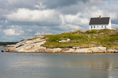 Peggys Cove house Royalty Free Stock Photography