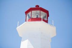 Peggys cove lighthouse Stock Photo