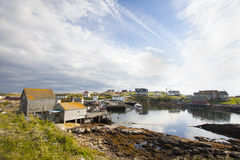 Peggys Cove Nova Scotia Stock Photo