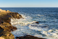 Peggys Cove shoreline Royalty Free Stock Image